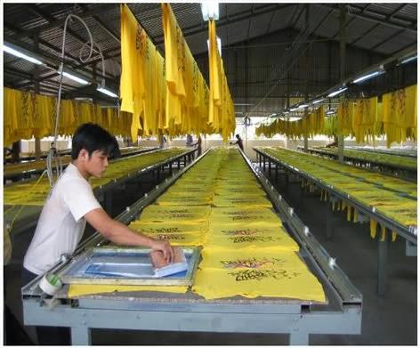Xưởng in áo thun